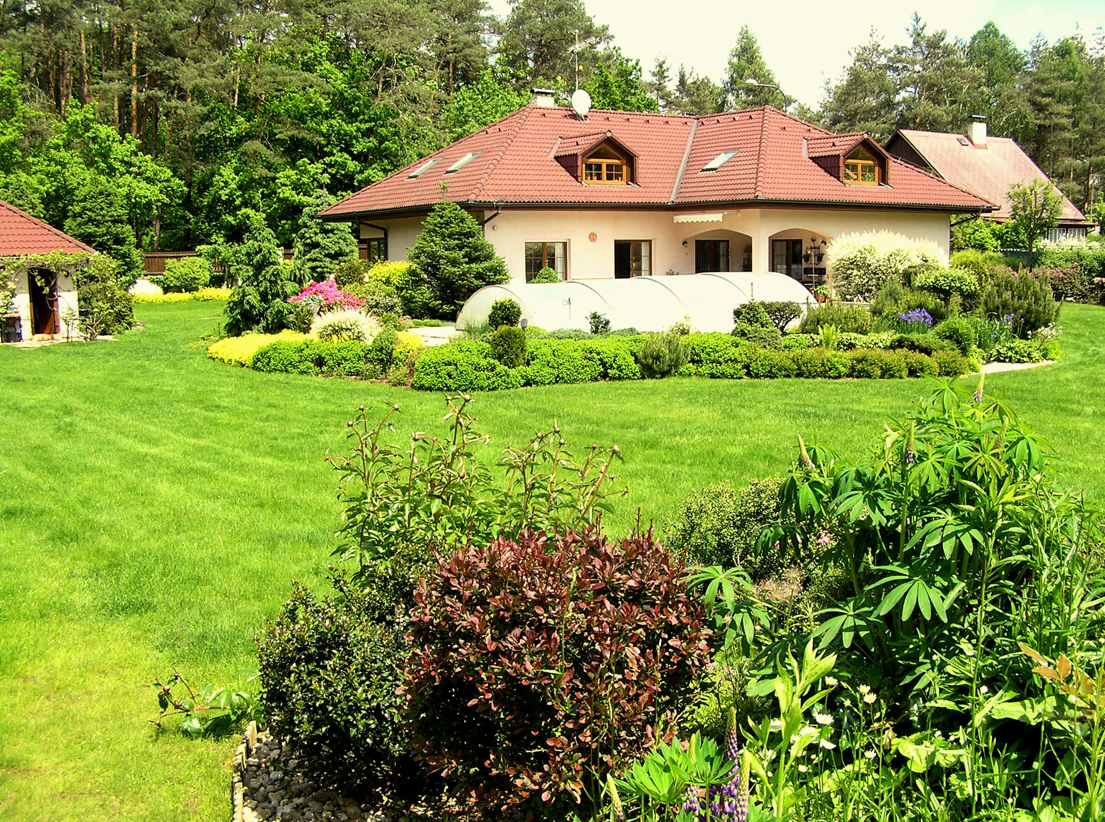 Rodinné domy krásný domov