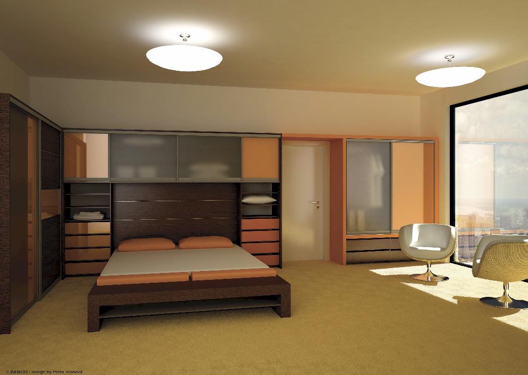 Ložnice A úložný Prostor Ložnice A Sestavy