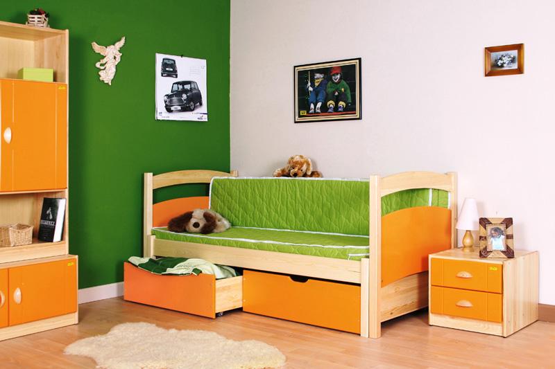 Dětský pokoj masiv a lamino známka 3 0 1 popis masivní dřevo