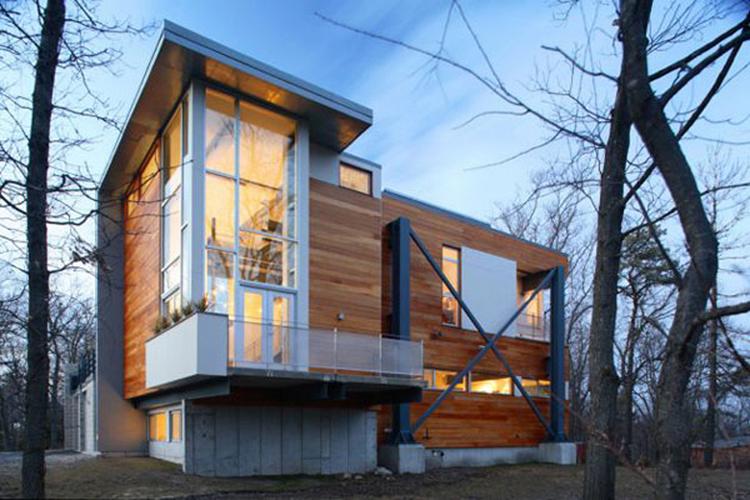 Nový dům ze skla