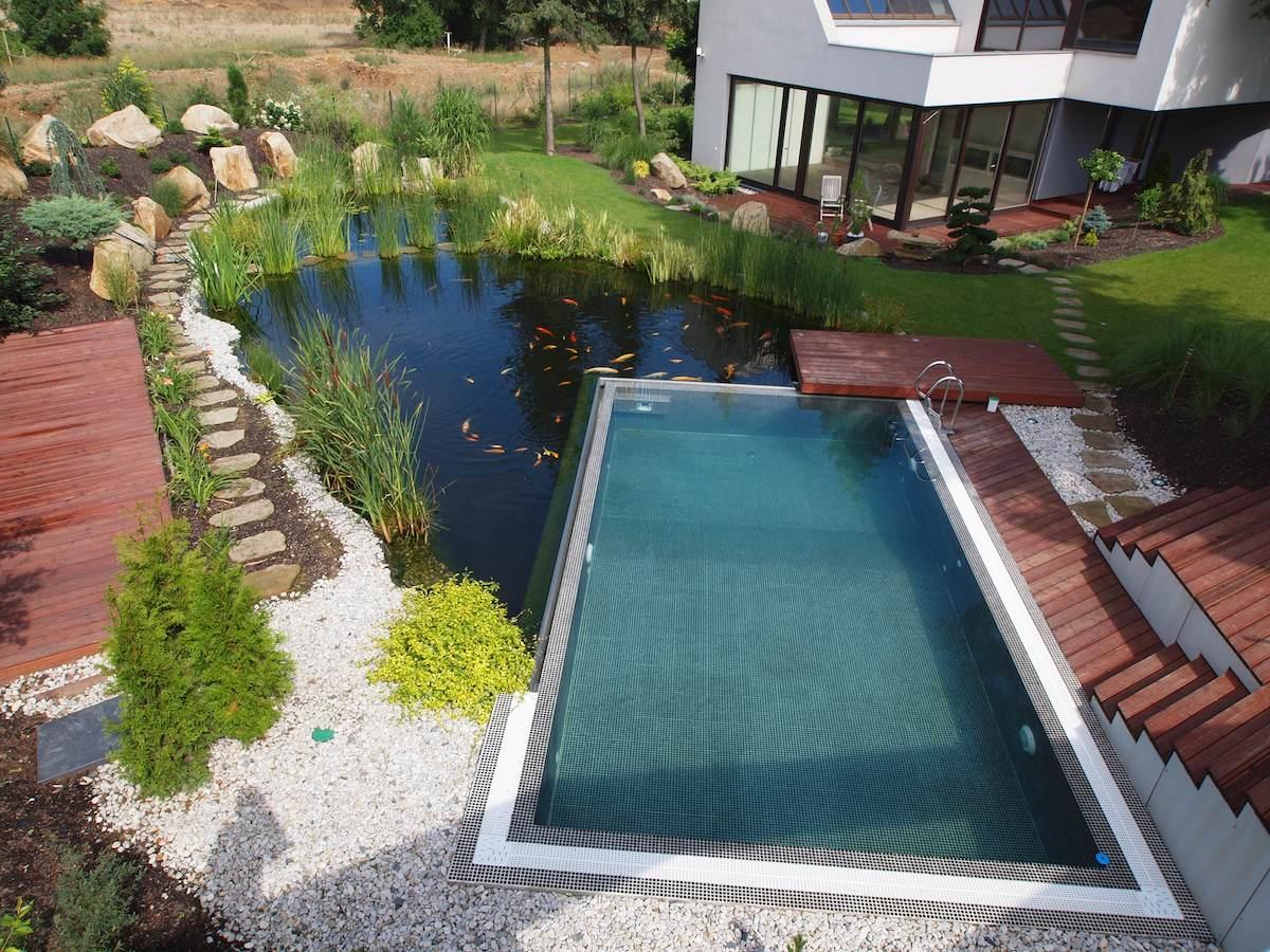 Dům snů v zahradě