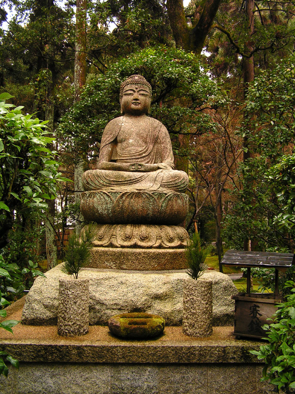Kamenný buddha