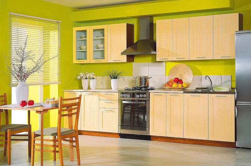 Kuchyně světlé dřevo