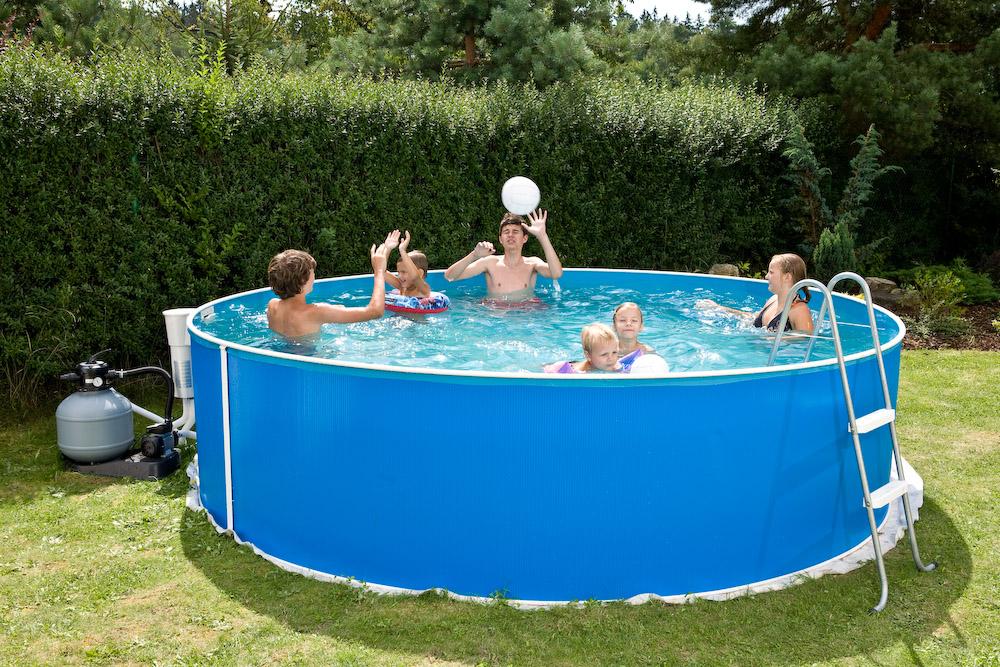 Bazény Orlando plechové