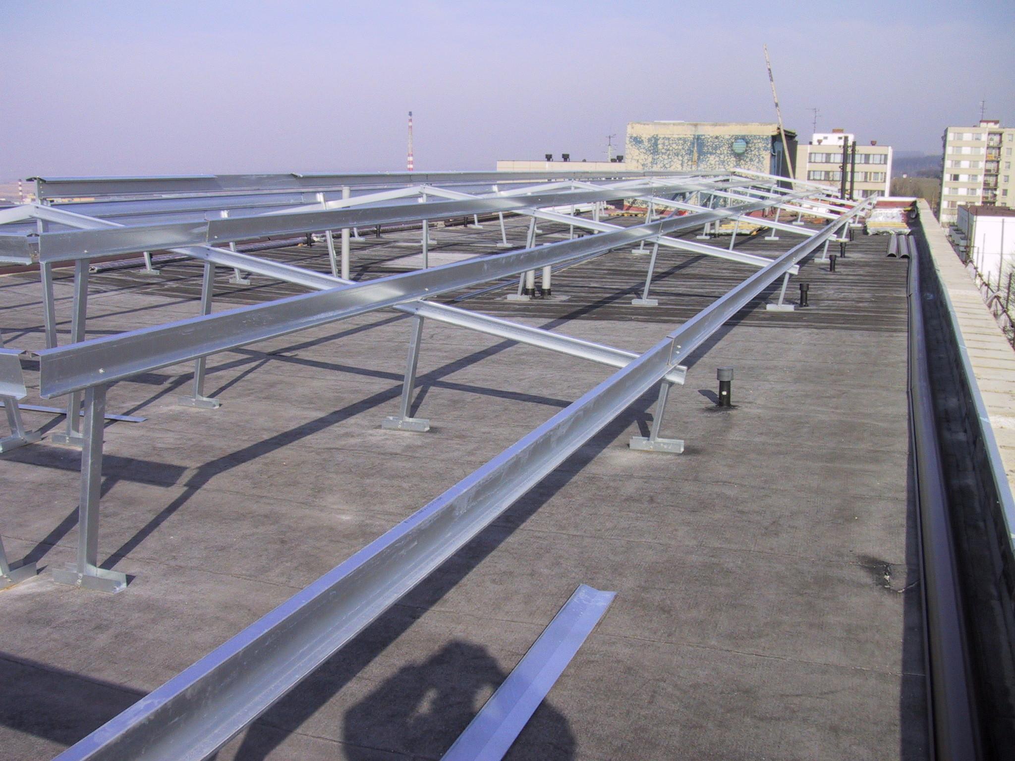 Konstrukce pro solární panely