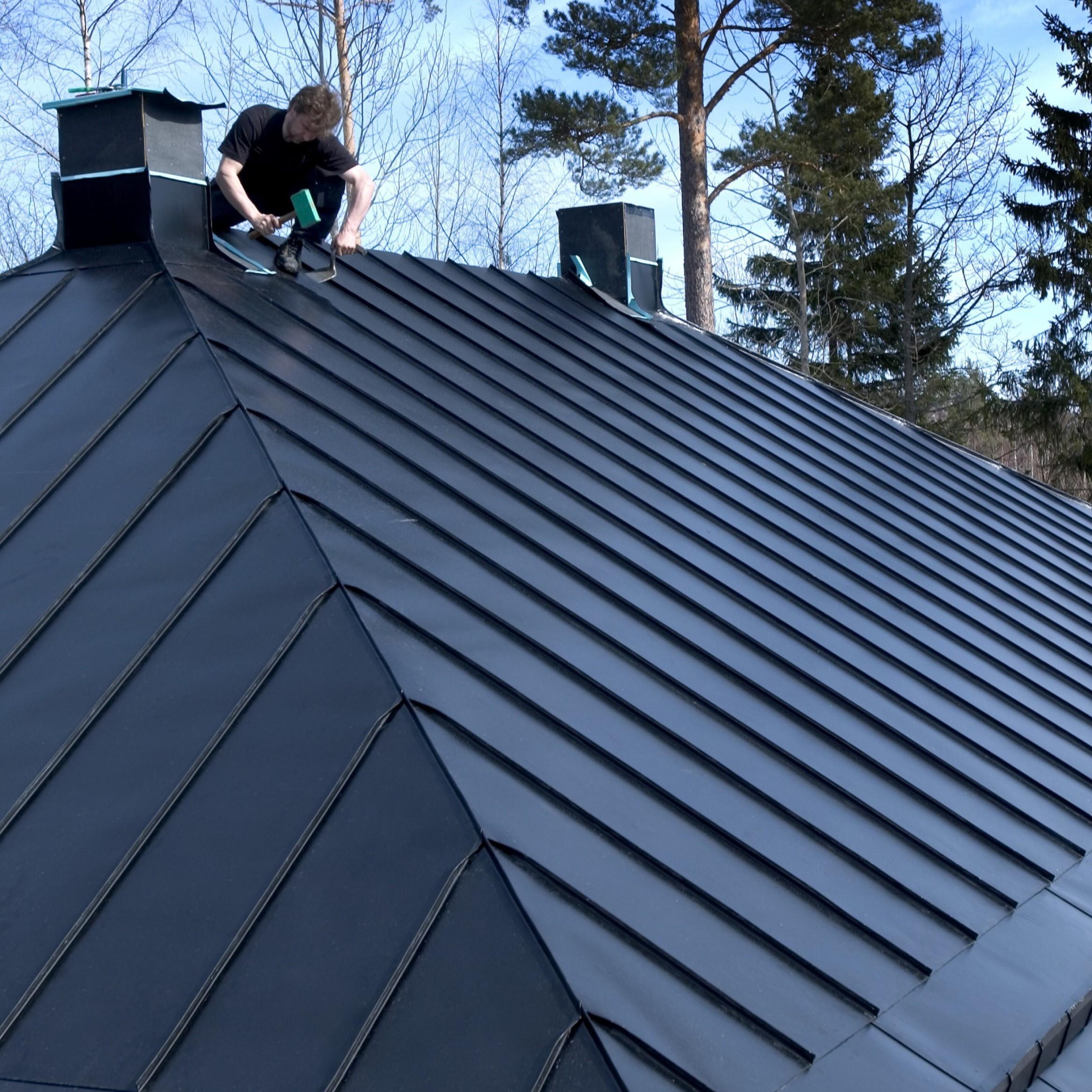 Stavba domu svépomocí střecha