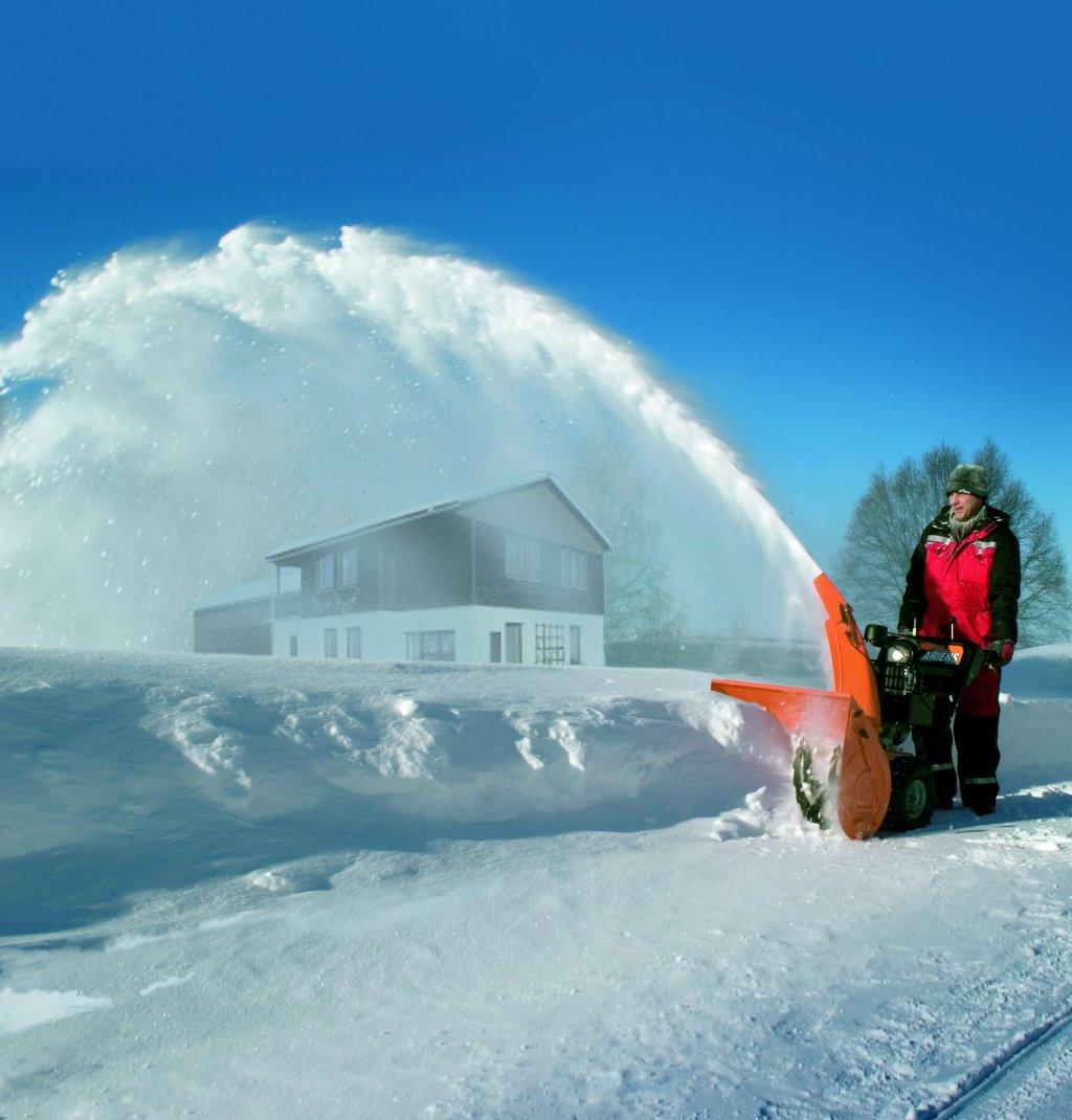 Sněhová fréza 001