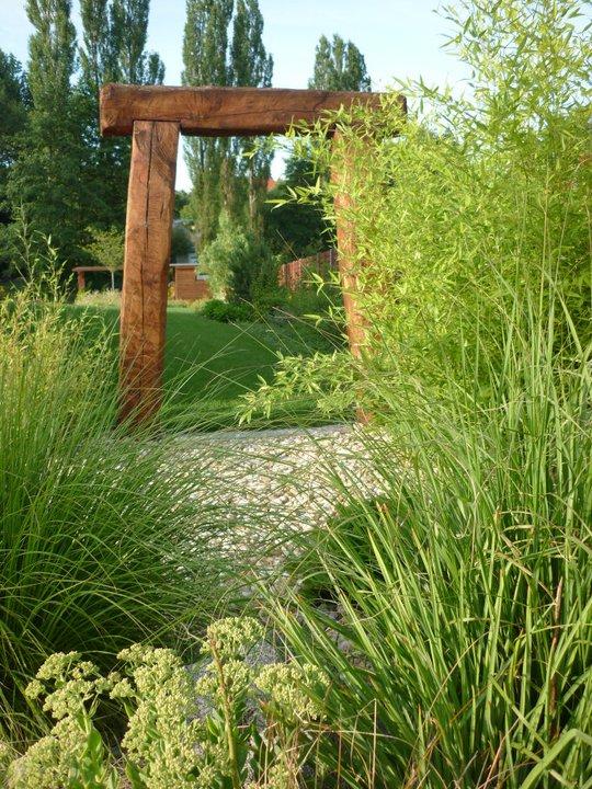 Klidné zahradní místo