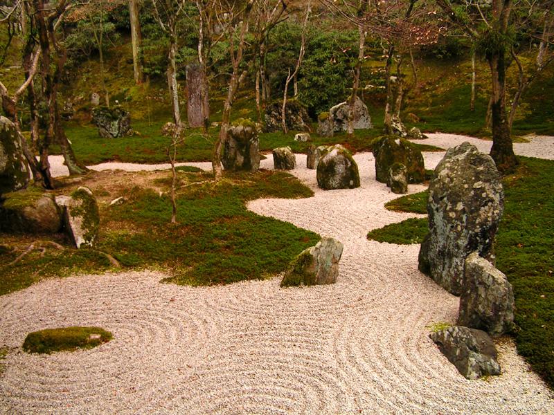 Japonská zenová zahrada