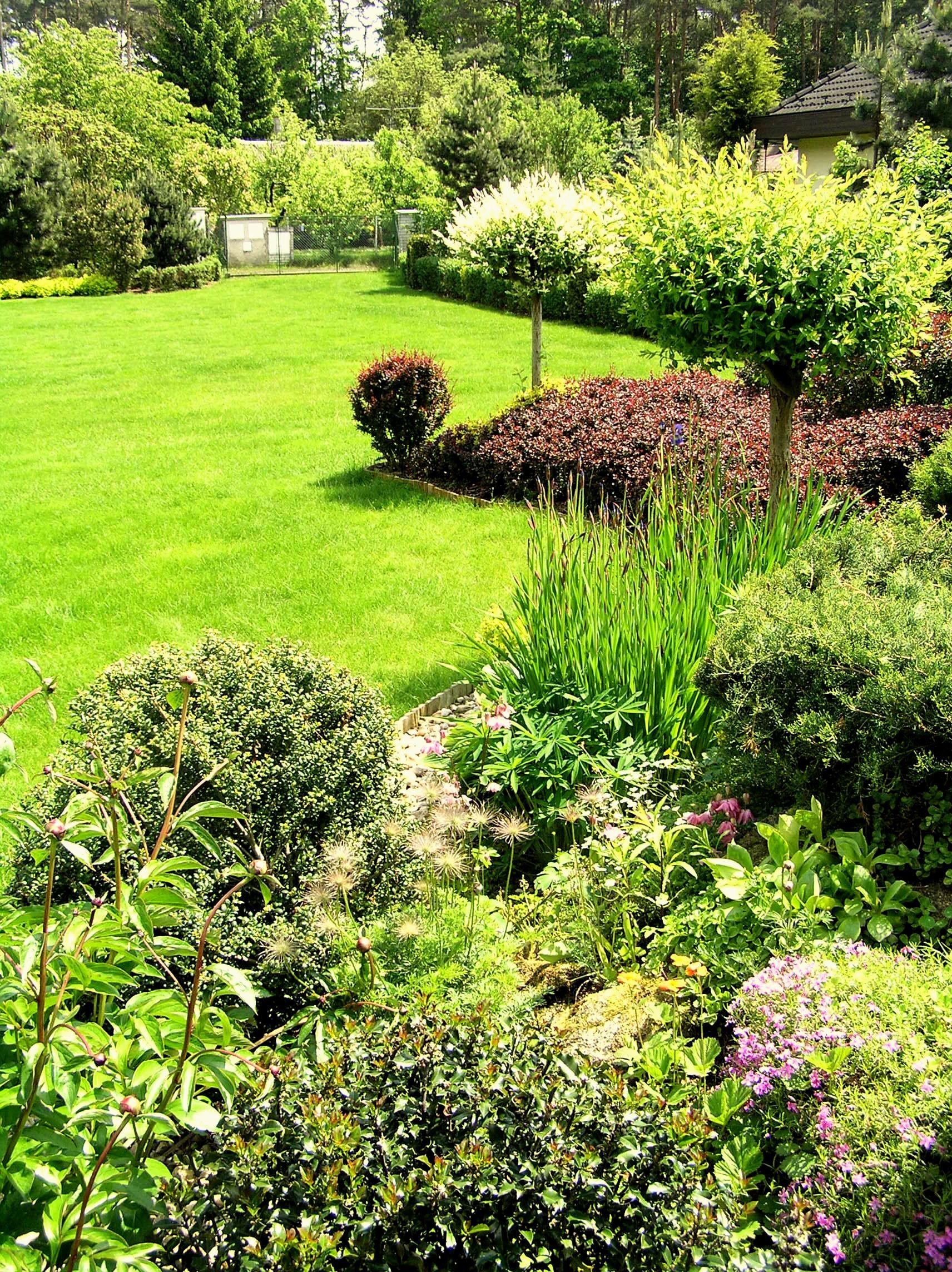Pěstěná zahrada