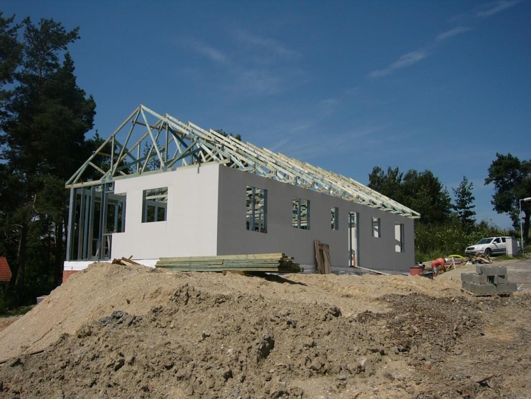 Rodinné domy stavba svépomocí