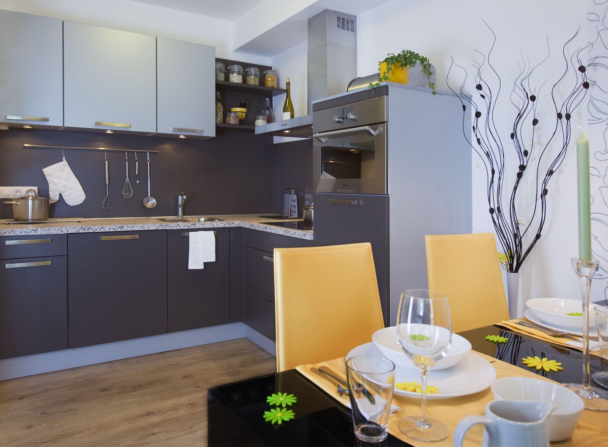 Kuchyně ve vzorovém domě