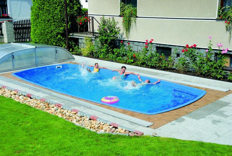 Bazény domácí pohoda
