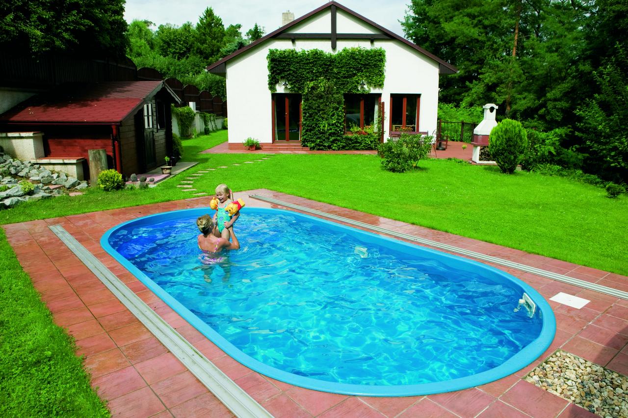 Bazény sklolaminátové