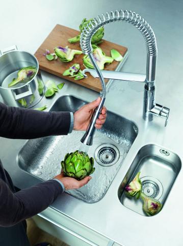 Kuchyňská baterie praktická a designová