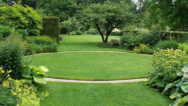 Kruh v zahradě