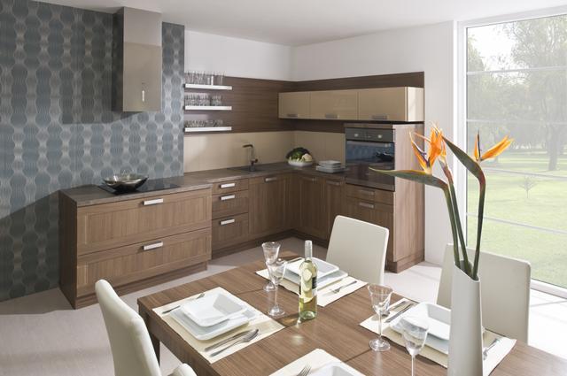Kuchyně s ergonomickým uspořádáním
