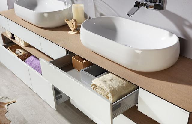 Voděodolný koupelnový nábytek