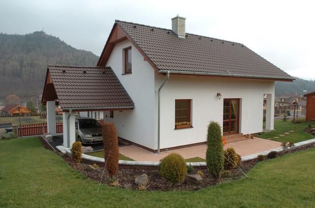Rodinné domy celkový pohled
