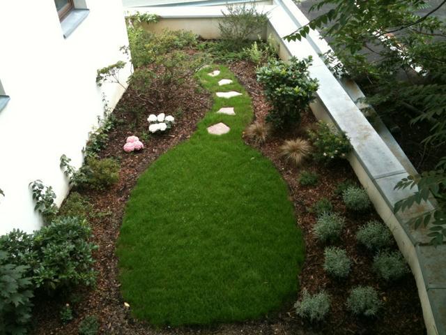 Zahrada ve vnitrobloku