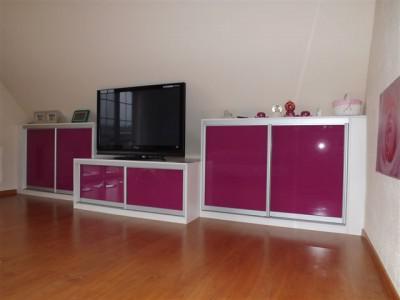 Stěny a skříně do obýváku