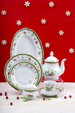 Vánoční porcelan
