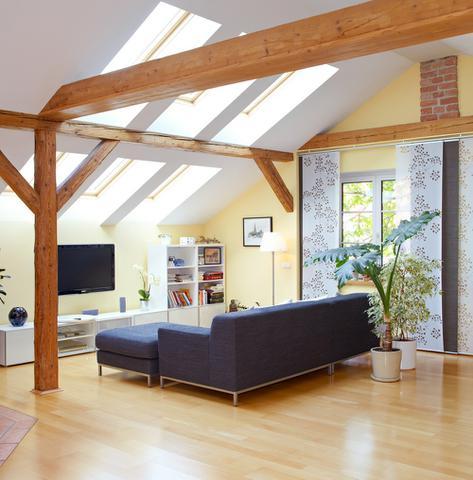 Obývací pokoj - akustické desky