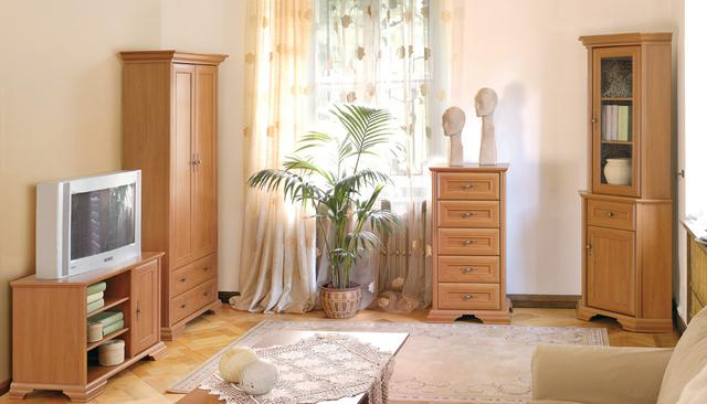 Klasický obývací pokoj