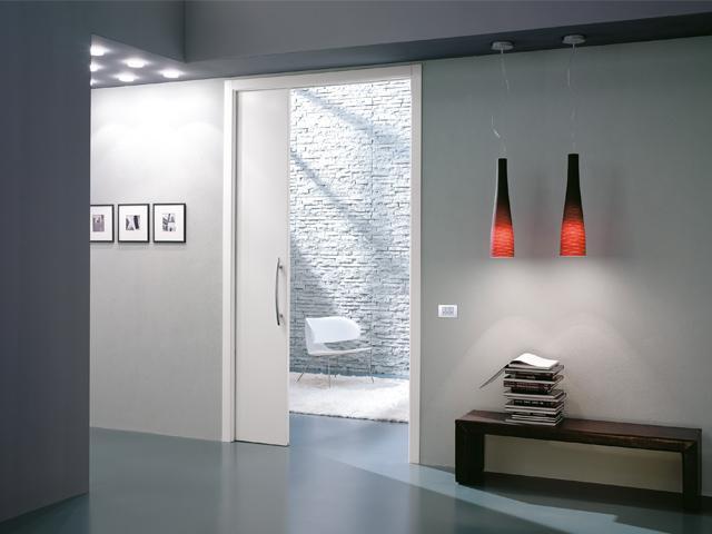Jednokřídlé interiérové stavební pouzdro