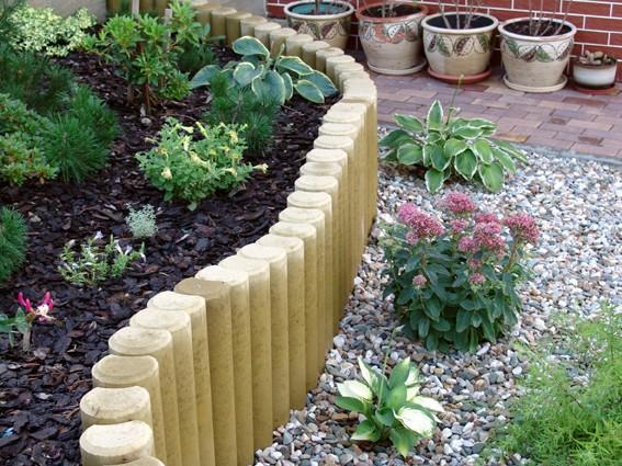 Palisády v zahradě