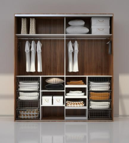 Úložný prostor vestavěné skříně