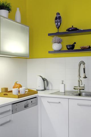 Kuchyně žluto bílá