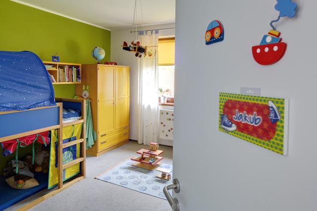 Vícebarevný dětský pokoj
