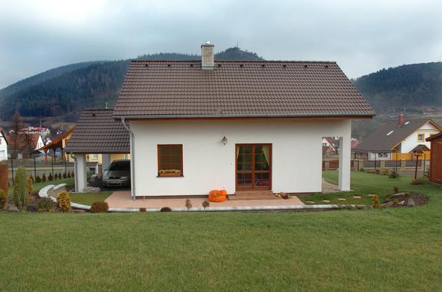 Rodinný dům Petra zahrada