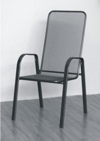 Venkovní hliníková židle
