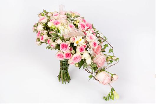 Luxusní svatební kytice