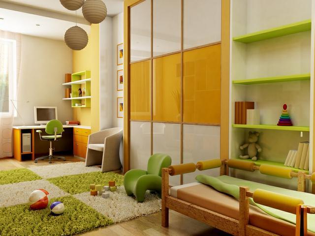 Vestavěné skříně dětský pokoj