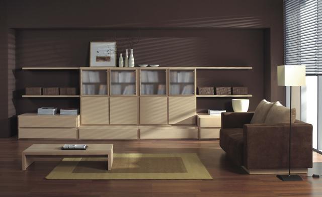 Harmonický obývací pokoj