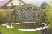 Zahradní živé iglú