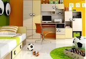 Veselý dětský pokoj