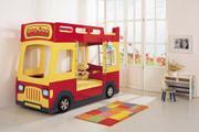 Dětská postel autobus