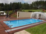 Obdélníkový bazén nezakrytý