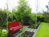Zahradní barevný akcent