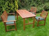 Zahradní set se sedáky