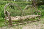 Zahradní lavice - vrba