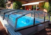Zastřešení bazénu posuvné