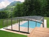 Zastřešení bazénu vysoké