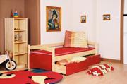 Dětská postel úložný prostor