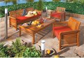 Pohodlný zahradní nábytek