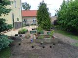 Zahrada příprava sázení